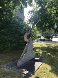 Working the Sails by John Van Alstine