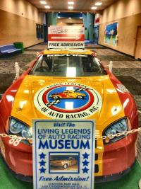 Car on display at the Living Legends of Auto Racing in Daytona Beach