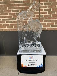 Beer Mug Ice Sculpture