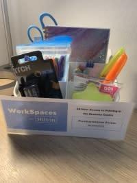 Work supplies - HGI workcation