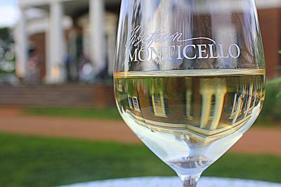 Wine at Monticello