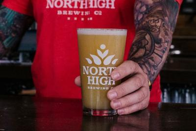 North High Brewing Beer