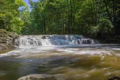 Waterfalls at Great Gully