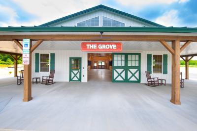 Front of The Grove at Harford, Harford County Maryland's Agribusiness Incubator