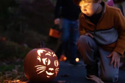 Hershey Gardens Pumpkin Glow