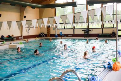 Senior Pool Class at Senior Rec Center