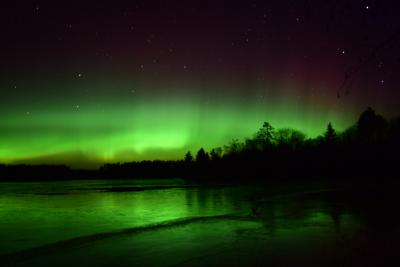 Northern Lights in Minocqua