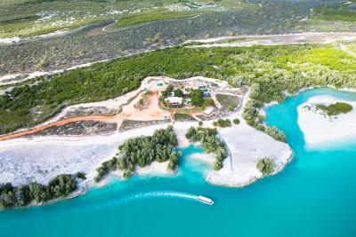 Willie Creek Pearl Farm aerial view