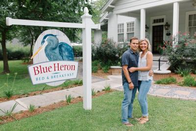 Steven and Sarah Federer of Blue Heron B&B
