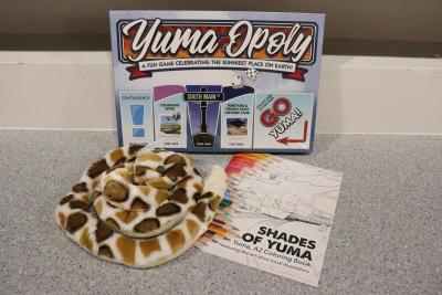 Gifts for Kids at the Yuma Visitor Information Center