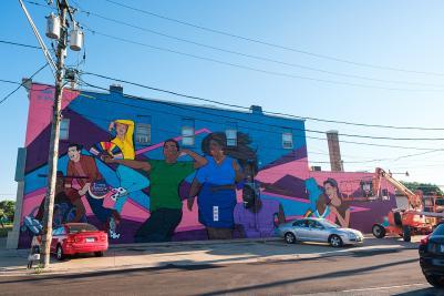 Sam Kirk mural