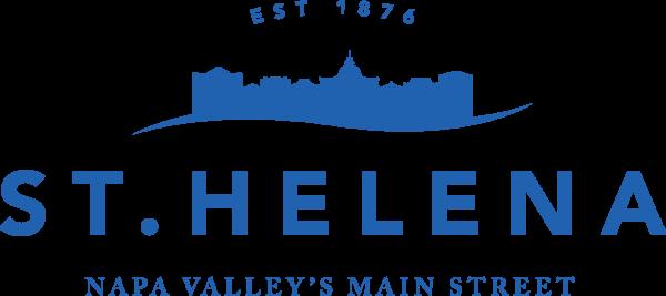 St. Helena logo blue