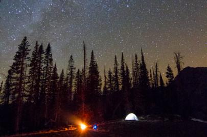 Camping in Steamboat Springs is a popular way to getaway from it all