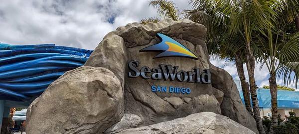 Entrance at SeaWorld San Diego