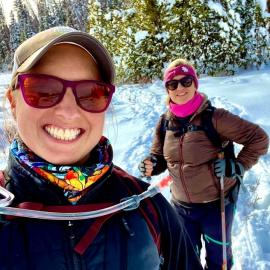 Snowshoe on Rabbit Ears Pass