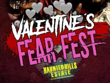 Haunted Hills Valentine's Fear Fest