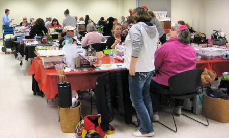 Crop & Craft at the Rubber Stamp and Paper Craft Festival