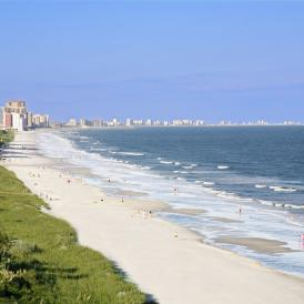 Myrtle Beach area Beaches are Open