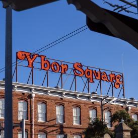 Ybor Square Sign