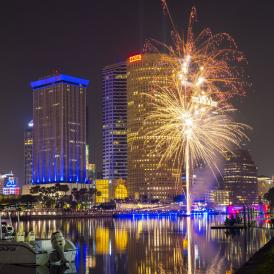 Fireworks in Tampa