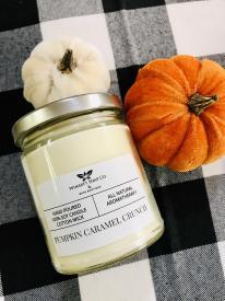 Pumpkin Caramel Crunch candle from Wimsatt