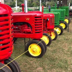 Antique Farm Machinery Exhibit at Kenosha County Fair