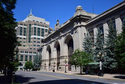 Union Station in downtown Albany
