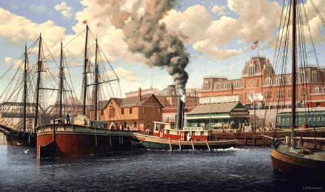 Union Depot by L.F. Tantillo
