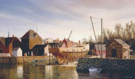 Water Street Shipyard by LF Tantillo