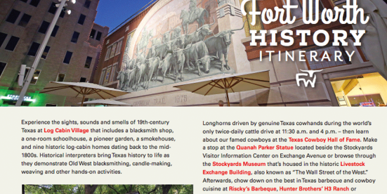 Fort Worth History
