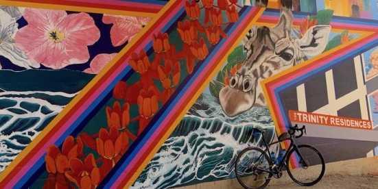 Trinity Trails Mural - Blog