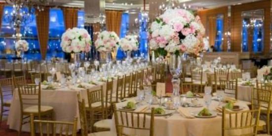 City Club Wedding Photo