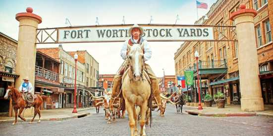 Stockyards Cowboy