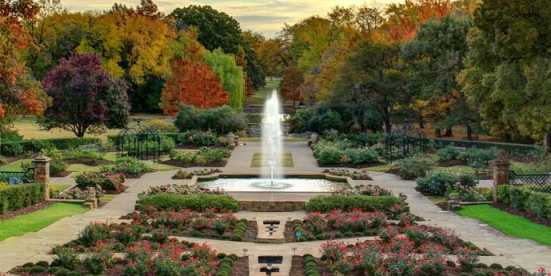 Botanic Garden Fall - Blog