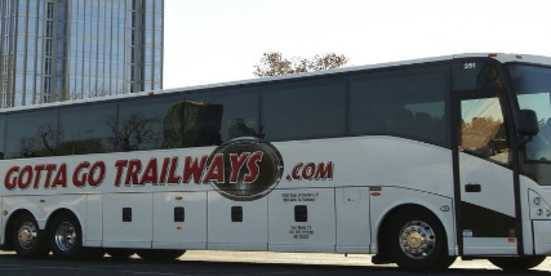 motor coach parking bus