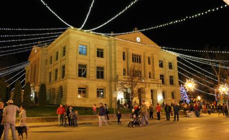 HIstoric Hendricks County Courthouse Square, Danville
