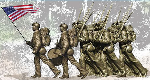 United States Colored Troops Sculpture