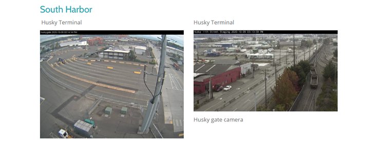 Port of Seattle webcam live view