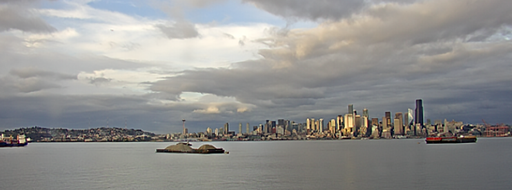 West  Seattle Webcam live view from Salty's in Alki Beach
