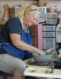 heather down to earth pottery