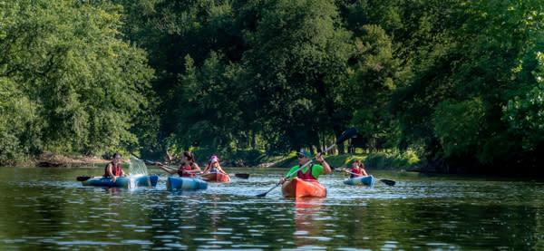 Kayaking on Swatara Creek