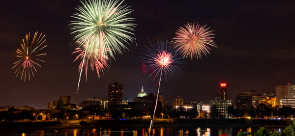 Fireworks over the Susquehanna - Free Things to Do