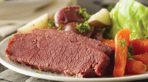 Saratoga Casino Hotel Corned Beef Cabbage