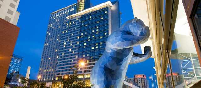 Denver Blue Bear Visit Denver
