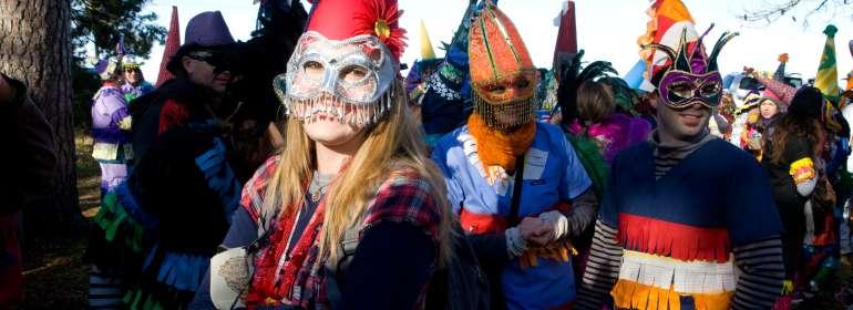 Traditional Mardi Gras Run