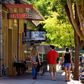 Washington Street Downtown Athens