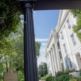 UGA Arch closeup