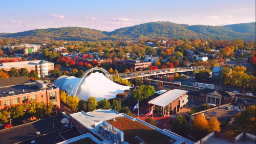 Sprint Pavilion Fall