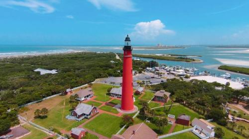 Ponce Inlet Lighthouse Aerial