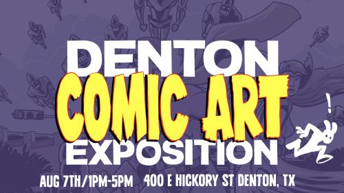 DCAE Comic Art Expo